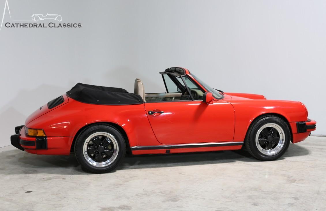 porsche 911 carrera 3 2 cabriolet 1986 cathedral classics. Black Bedroom Furniture Sets. Home Design Ideas